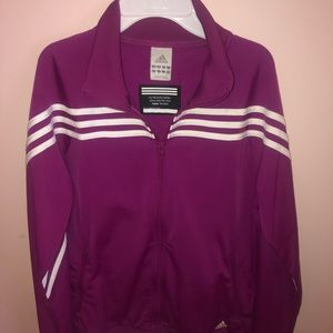 Adidas Women's Purple Jacket - Size M